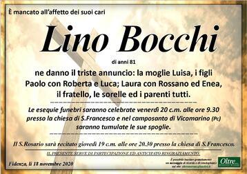 Necrologio di Lino Bocchi