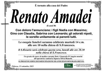 Necrologio di Renato Amadei