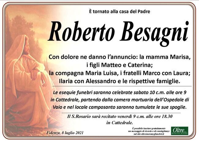 Necrologio di Roberto Besagni