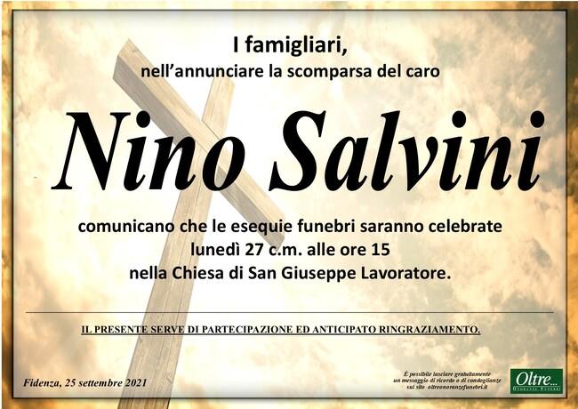Necrologio di Nino Salvini