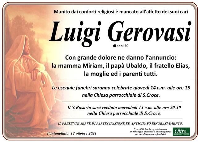 Necrologio di Luigi Gerovasi