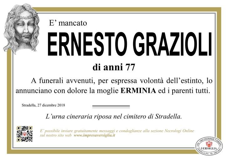 Necrologio di Grazioli Ernesto