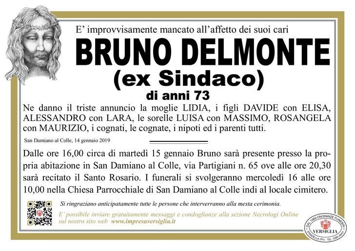 Necrologio di Bruno Delmonte
