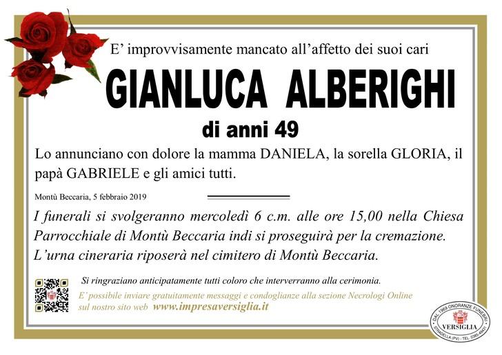 Necrologio di Gianluca Alberighi