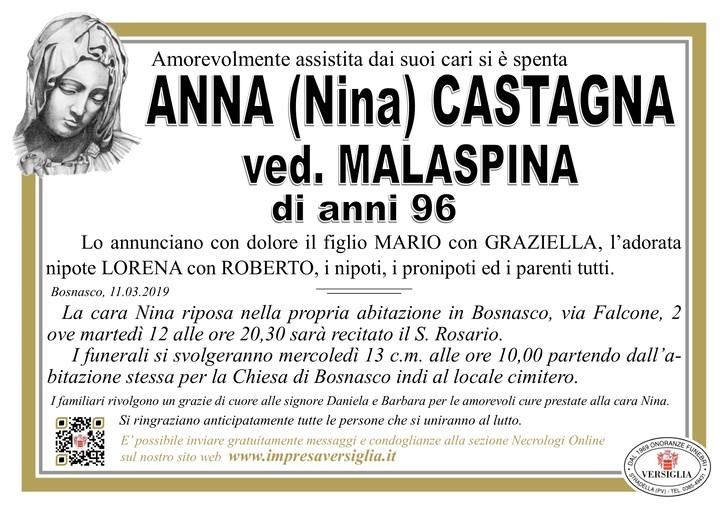 Necrologio di Anna Castagna