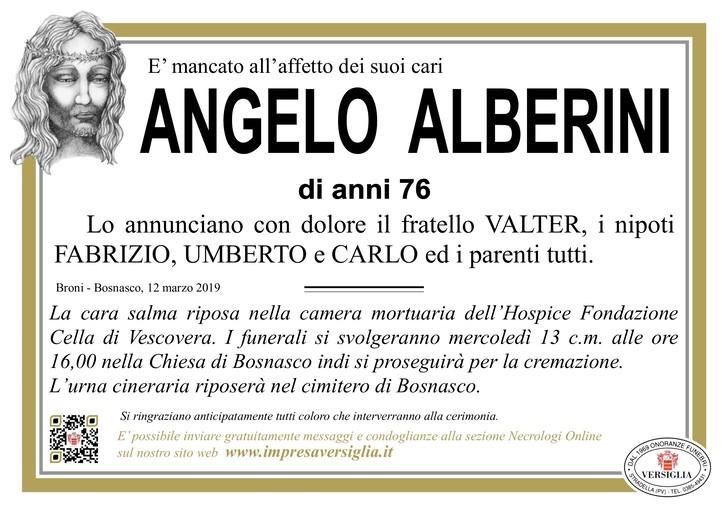 Necrologio di Angelo Alberini