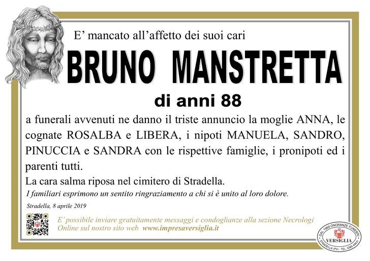 Necrologio di Bruno Manstretta