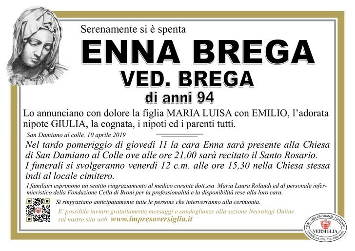 Necrologio di Enna Brega