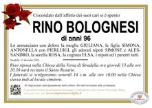 Necrologio di Rino Bolognesi