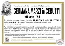 Necrologio di Germana Marzi