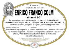 Necrologio di Colmi Franco