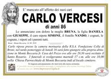 Necrologio di Vercesi Carlo
