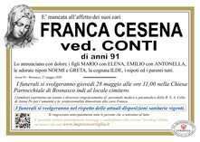 Necrologio di CESENA FRANCA