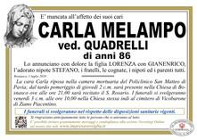 Necrologio di MELAMPO CARLA