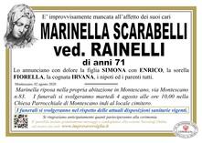 Necrologio di SCARABELLI MARINELLA
