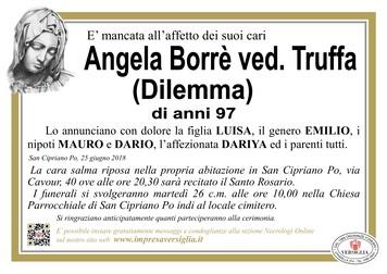 Necrologio di Angela Borrè (Dilemma)