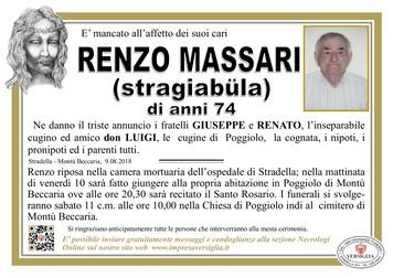 Necrologio di Massari Renzo