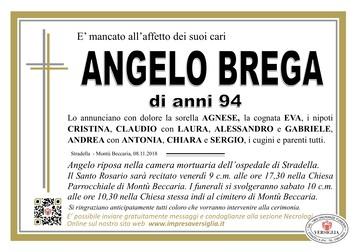 Necrologio di BREGA ANGELO