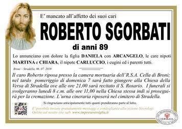 Necrologio di Sgorbati Roberto