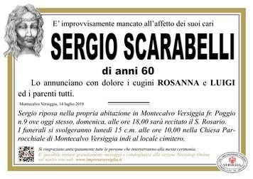 Necrologio di Scarabelli Sergio