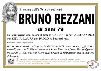 Necrologio di Rezzani Bruno