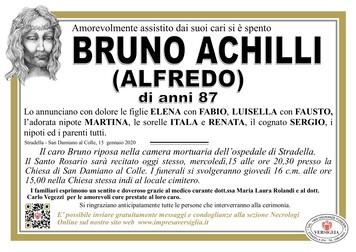 Necrologio di Achilli Bruno