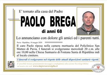 Necrologio di Brega Paolo