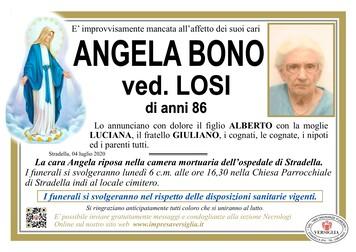 Necrologio di Bono Angela