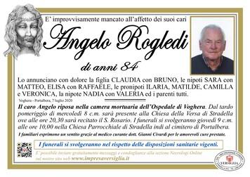 Necrologio di Angelo Rogledi