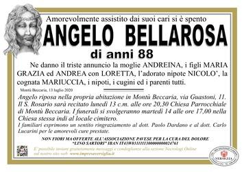 Necrologio di Bellarosa Angelo