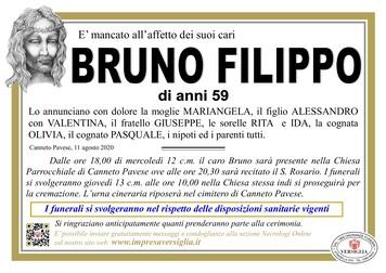 Necrologio di BRUNO FILIPPO