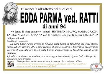 Necrologio di PARMA EDDA