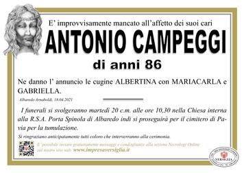Necrologio di CAMPEGGI  ANTONIO