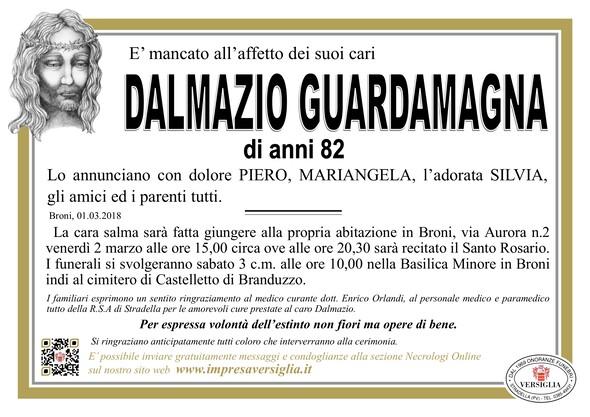 Necrologio di Dalmazio Guardamagna