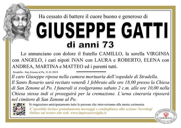 Necrologio di Giuseppe Gatti