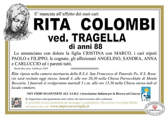 Necrologio di Rita Colombi