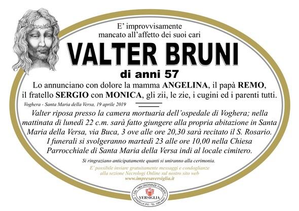 Necrologio di Valter Bruni