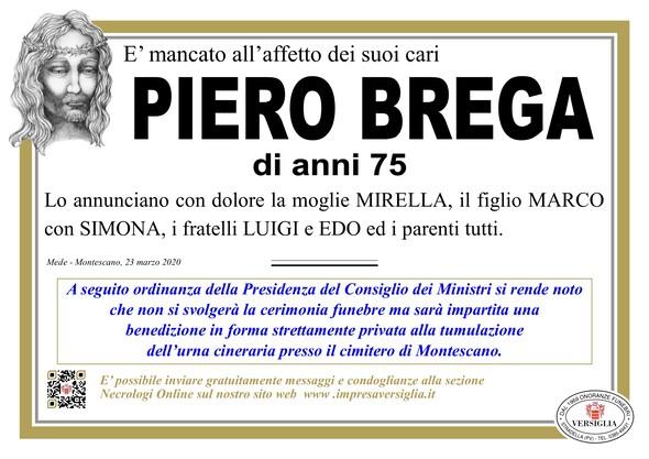 Necrologio di Brega Piero