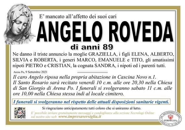 Necrologio di ROVEDA ANGELO