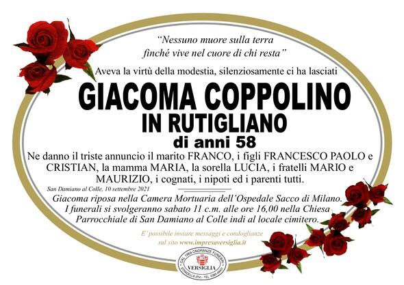 Necrologio di COPPOLINO GIACOMA