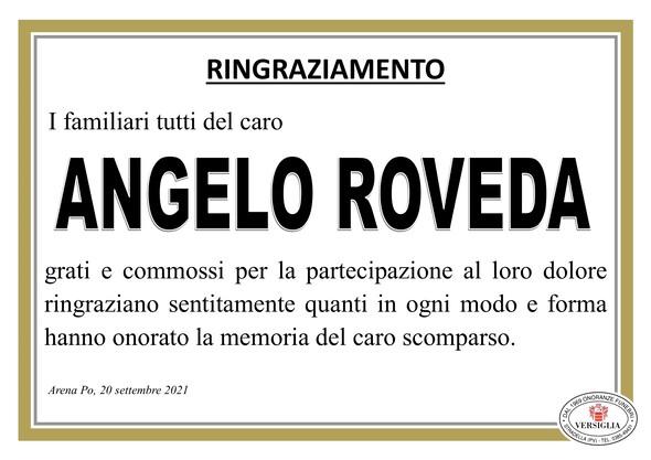 Ringraziamenti per ROVEDA ANGELO